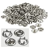 "ProTool 0103 100-Piece 3/16"" Snap Fastener Refills-3/8 Outside Diameter"