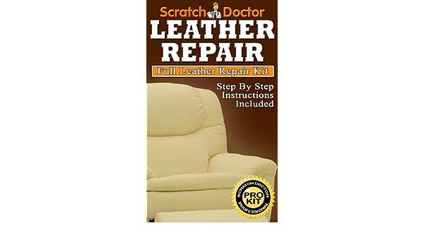 The Scratch Doctor- Kit para reparar sillones de piel, color ...
