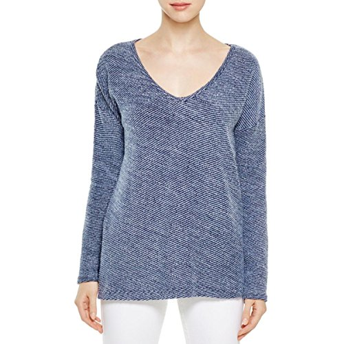 PAIGE Women's Martine Top-Dark Ink Blue