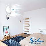 Simple Deluxe Household Quiet 16-Inch Digital