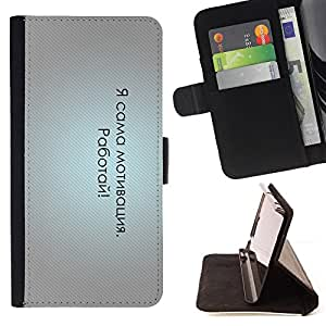/Skull Market/ - RUSSIAN FUNNY - MESSAGE For Samsung Galaxy Note 4 IV - Caja de la carpeta del tir???¡¯???€????€?????????&A