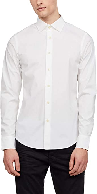 G STAR RAW Core Super Slim Shirt Chemise Casual Homme