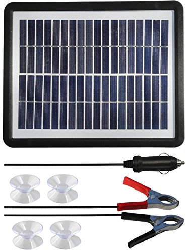 Solar Panel Trickle Charger Car Battery - 8