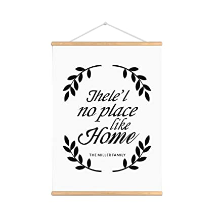 Amazoncom Purple Verbena Art No Place Like Home Words Sign Quotes