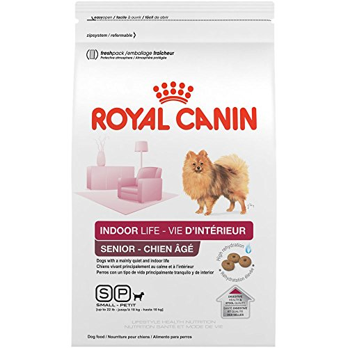 Royal Canin Size Health Nutrition Small Indoor Senior Dry Dog Food, 2.5 Lb