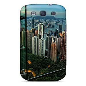 Michorton Wwknf13577Dvbuc Protective Case For Galaxy S3(hong Kong From A Tram)