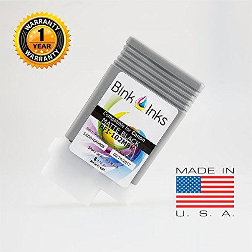 New Bink Inks Compatible Canon PFI-102MBK 130mL Matte Black Ink Cartridge for imagePROGRAFF printers free shipping