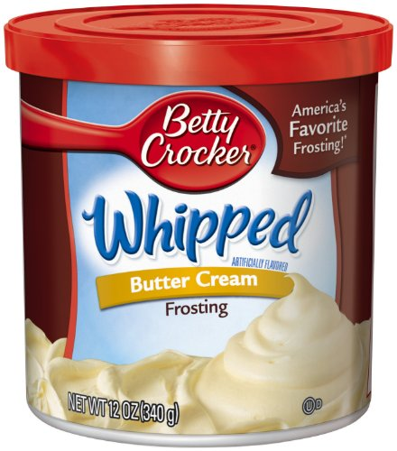 Betty Crocker Frosting 12 Ounce Containers
