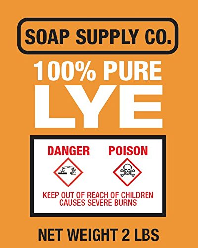 Pure Lye - Soap Making - 2lbs Soap Supply Co.