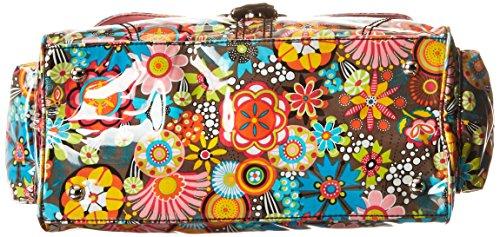 Kalencom Laminated Buckle Bag, Retro Floral by Kalencom (Image #3)