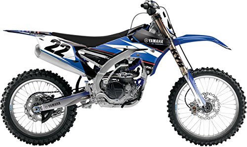 Factory Effex Graphics Kits - 02-14 YAMAHA YZ85: Factory Effex EVO 14 Shroud Graphic Kit - Yamaha (ONE COLOR)