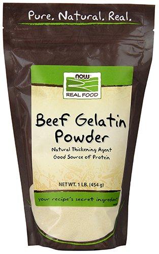Now Foods Beef Gelatin Natural Powder 1 lb ()