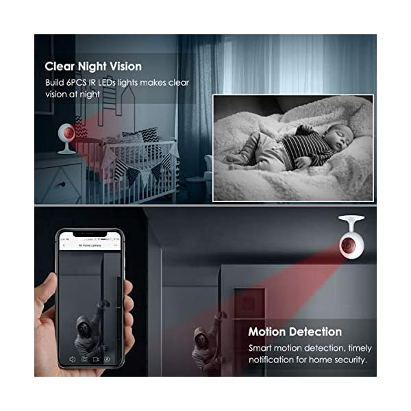 MI-Wireless-Security-Camera-1080P-Xiaomi-Smart-Home-WiFi-Camera-Surveillance-System-for-Baby-Parent-Pet-MonitorTwo-Way-AudioNight-VisionMotion-DetectionRemote-View24GHZ-WiFiNO-TF-Card-by-ANRAN