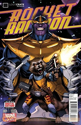 Download Rocket Raccoon #1 Lootcrate Variant Edition (Thanos Cover) ebook