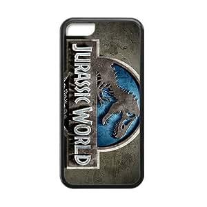 Jurassic World Logo Black Phone Case for iPhone 5c