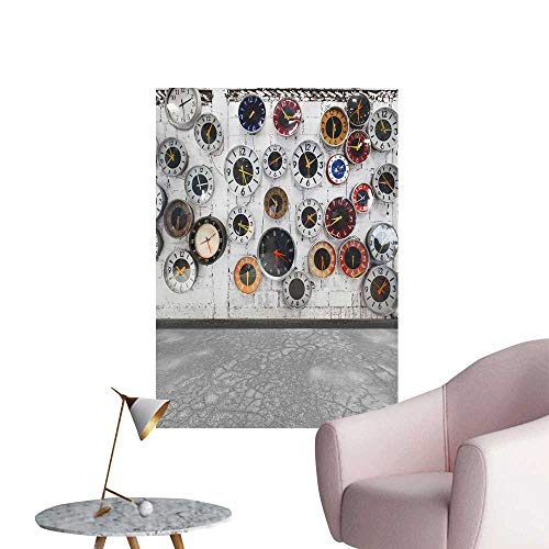 SeptSonne Wall Painting Retro Clocks w High-Definition for sale  Delivered anywhere in USA