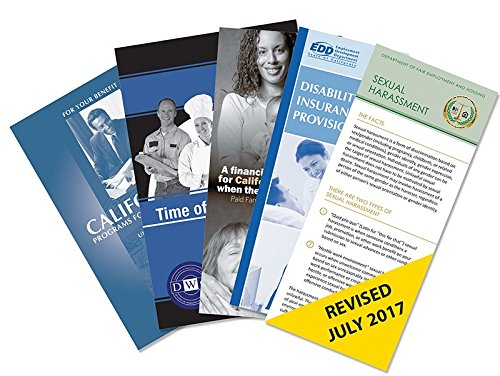 Federal Poster Packs - California Required Pamphlets Pack