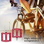 Heavenlife-Pedali-MTB-Anti-Slittamento-Pedali-Flat-per-Bicicletta-BMX-Ciclismo-Durevole-Pedali-Ultraleggeri-per-916-di-Pollice