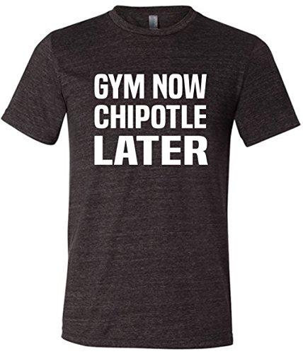 mens-gym-now-chipotle-later-tee-shirt-workout-shirt-medium-black