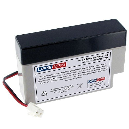 Weida Hx12 0 8 J2 Jst Terminal 12V 0 8Ah Sealed Lead Acid Replacement Battery