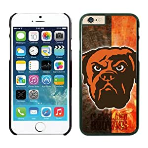 NFL&Cleveland Browns iPhone Cases 18 Black 4.7 inches iPhone6 Cases 4.7 inches Gift Holiday Christmas Gifts cell phone cases clear phone cases protectivefashion cell phone cases HLNKY605583059