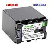 Kastar New BN-VG138 Fully-decoded battery For JVC BN-VG138U BN-VG138 BN-VG121U BN-VG121 VC GZ-EX210/265/275/355/575