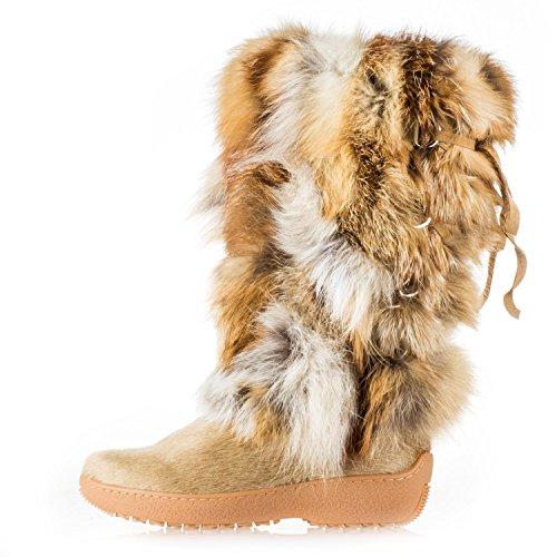 Pajar Canada 48732 Women's Kim Boot, Beige - (Pajar Fur Boots)