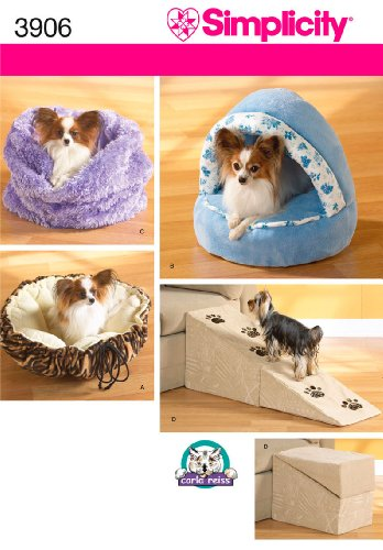 Cat Bed Sewing Pattern - 2