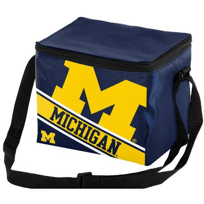 FOCO Michigan Big Logo Stripe 6 Pack ()