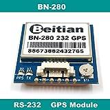 Xligo RS-232 RS232 GPS GLONASS Dual GNSS Module,UBLOX M8030 NEO-M8N,GPS Module with Antenna and Flash,BN-280