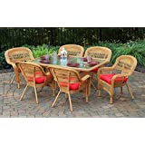 Tortuga US PSD-66-AM MONTP 7 Piece Portside Dining Set, Amber
