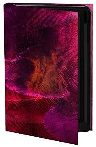 Keka Classic - Funda para iPhone 5 (fijación a presión), diseño abstracto de L.A. House, color rojo y morado