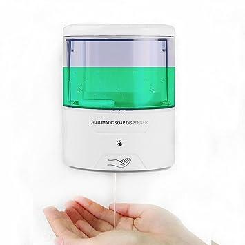 automatic touchless hand soap dispenser sunsbell battery powered sensor wall mount pump touchless liquid infrared soap - Hand Soap Dispenser