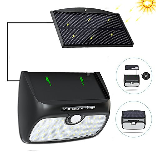 Solar Path Lights With Separate Solar Panel