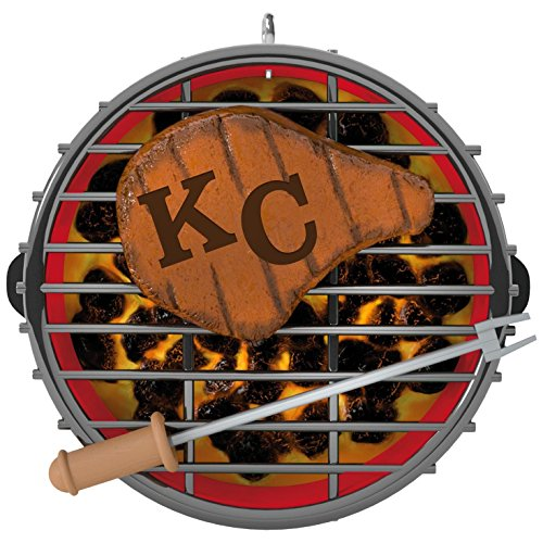 Hallmark Kansas City BBQ Grillin' KC Ornament
