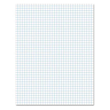Amazon.com : Ampad 8 1/2 x 11 Inches White Quad Pad, 4 Square Inch ...