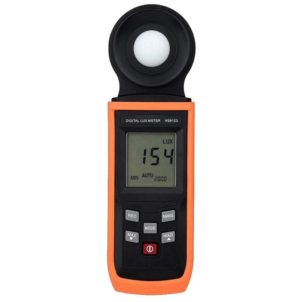 Becobe Digital Light Meter Luxmeter 200000 LUX Meters Luminometer Sunshine Photometer