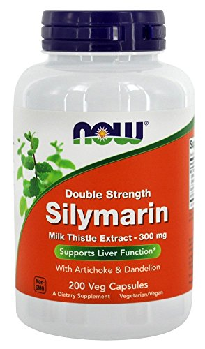 Now Foods Silymarin - 200 Vcaps (Pack of 3) by Now Foods