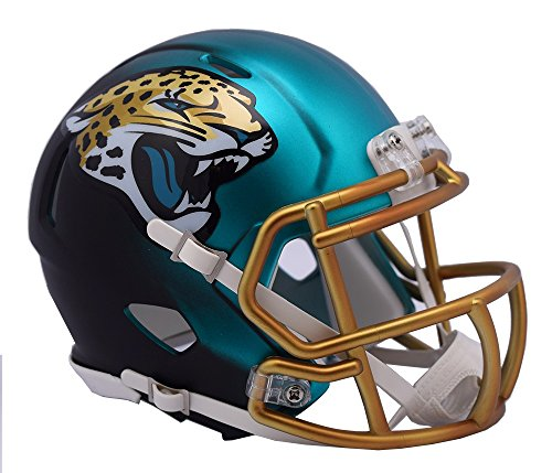 NFL Jacksonville Jaguars Riddell Alternate Blaze Speed Full Size Replica Helmet by Riddell