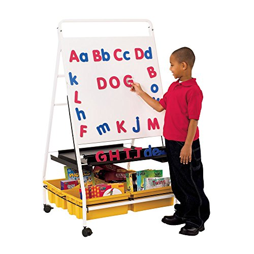 Jumbo Magnetic Letters - ETA hand2mind Jumbo Magnetic Foam Alphabet with Uppercase and Lowercase Letters (Set of 104)
