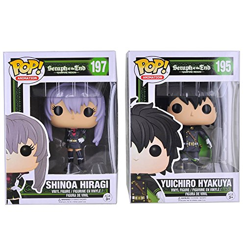 Price comparison product image Funko Yuichiro Hyakuya/Shinoa Hiragi N/A Unisex Kids Collectible Figure