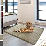 Premium Plush Sherpa Pet Blanket by PetAmi | Sized for Cats, Small Dogs, Puppies, Kittens | Soft, Cozy, Comfortable, Lightweight Microfiber
