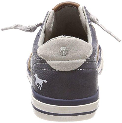 Mustang Unisex-Kinder 5024-302 Low-Top Blau (Dunkelblau)