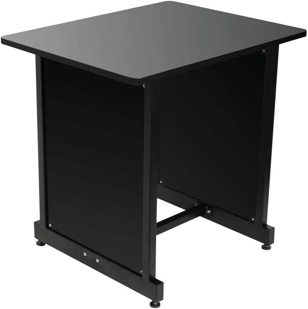 On-Stage WS7500 Series Workstation Rack Cabinet, Black