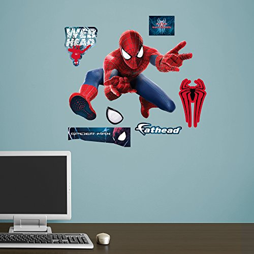 Fathead The Amazing Spider-Man 2 Battle Mural Real Big Wall Decal