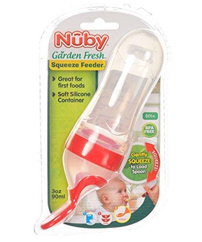 Nuby Garden Silicone Squeeze Feeder