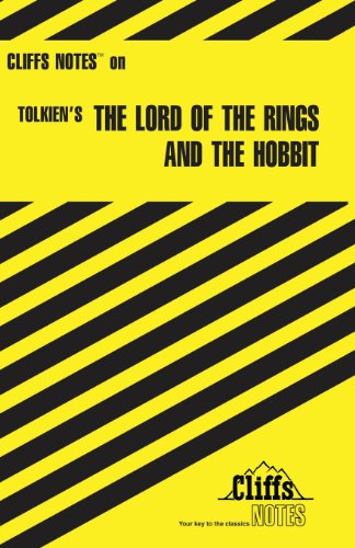 The Lord of the Rings and The Hobbit (Cliffs Notes) [Hardy, Gene B] (Tapa Blanda)
