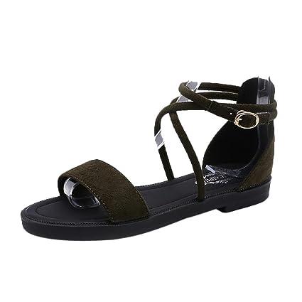 Sandali eleganti verdi per donna Minetom I5SPFQzP4U