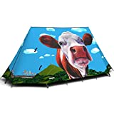 Campo Glastocows Explorer-Candy, misura unica