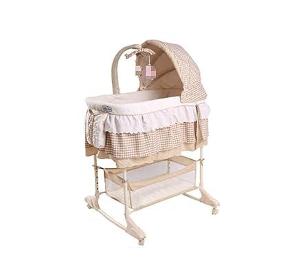 Cama cuna recién nacida - Coctelera para bebés con mosquitero, cuna ...